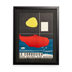 Le Corbusier: Musée d'Art Moderne Framed Poster in color