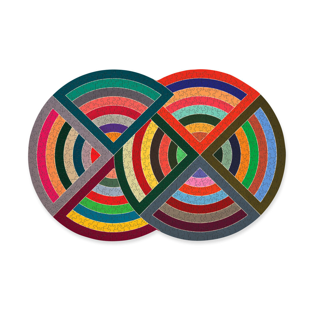 Frank Stella Puzzle in color