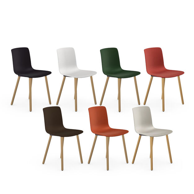 HAL Wood Chair in color