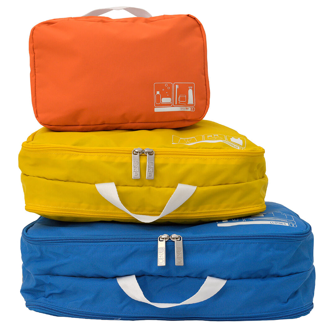 Spacepak Toiletry Bag in color Orange