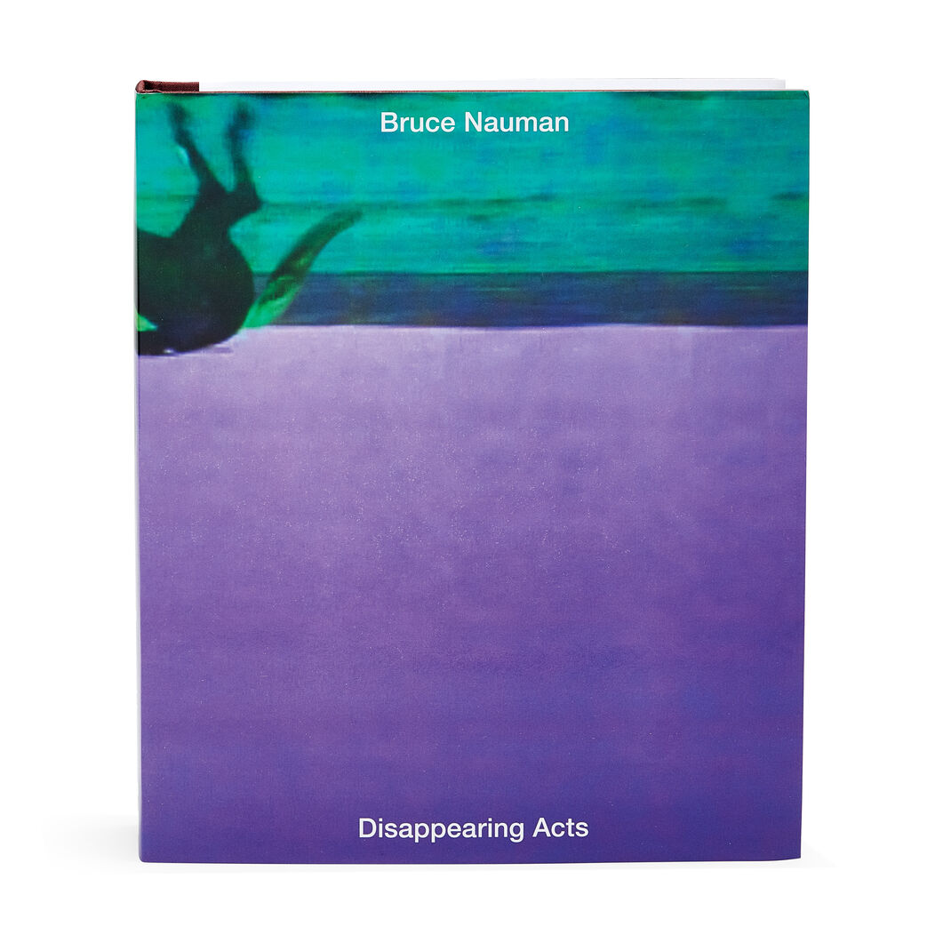 Bruce Nauman: Disappearing Acts in color