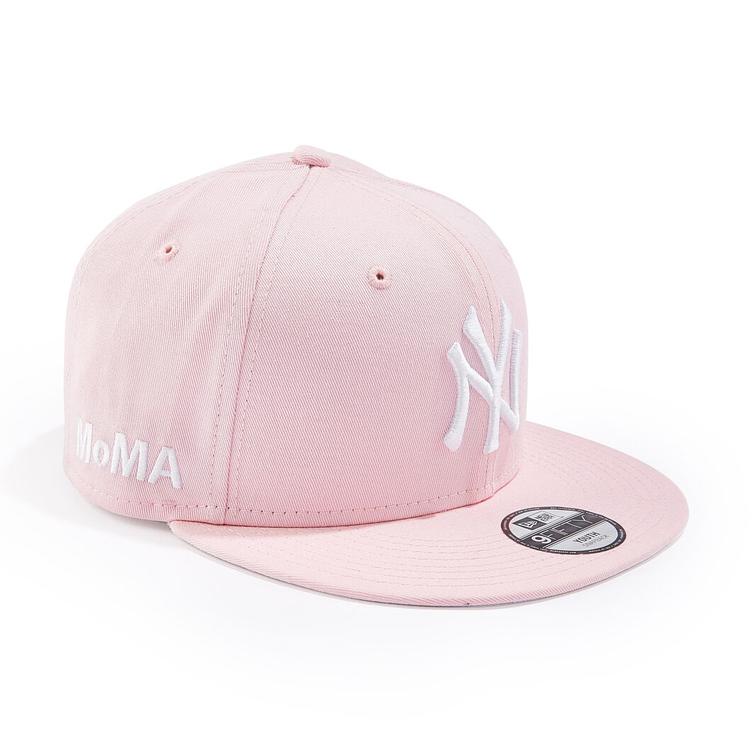 Kids' MoMA NY Yankees Cap in color Pink
