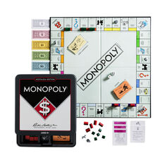 Monopoly Game Tin - Nostalgia Edition in color