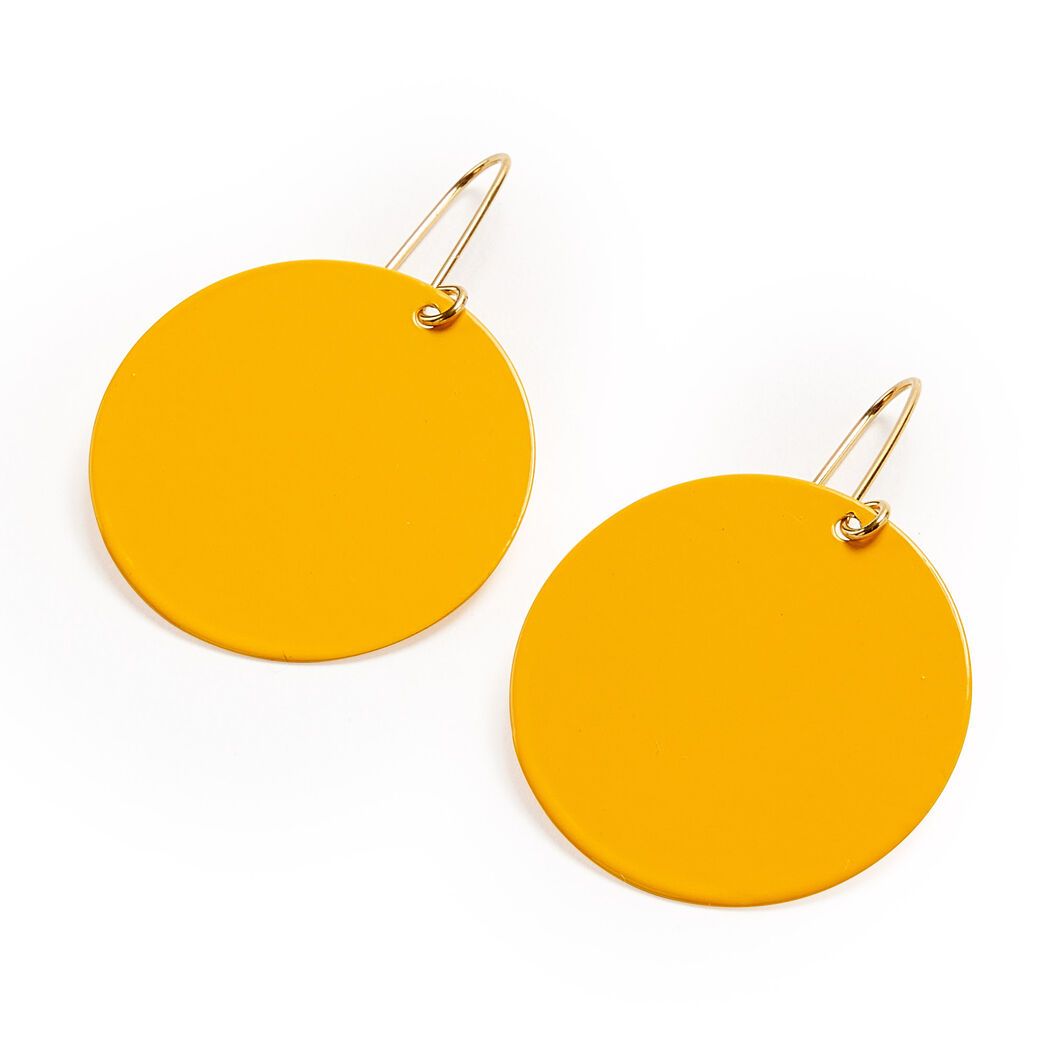 Sibilia Nature Earrings in color Yellow