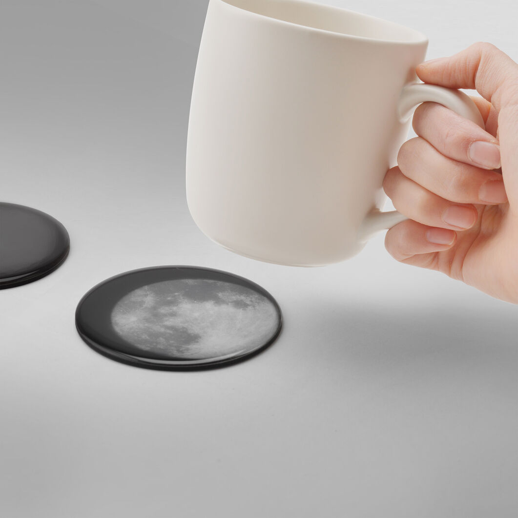 Drink the Moon Coasters in color