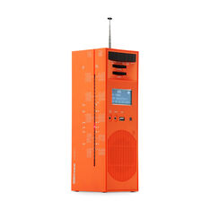 Grattacielo Radio Speaker by Brionvega in color Orange