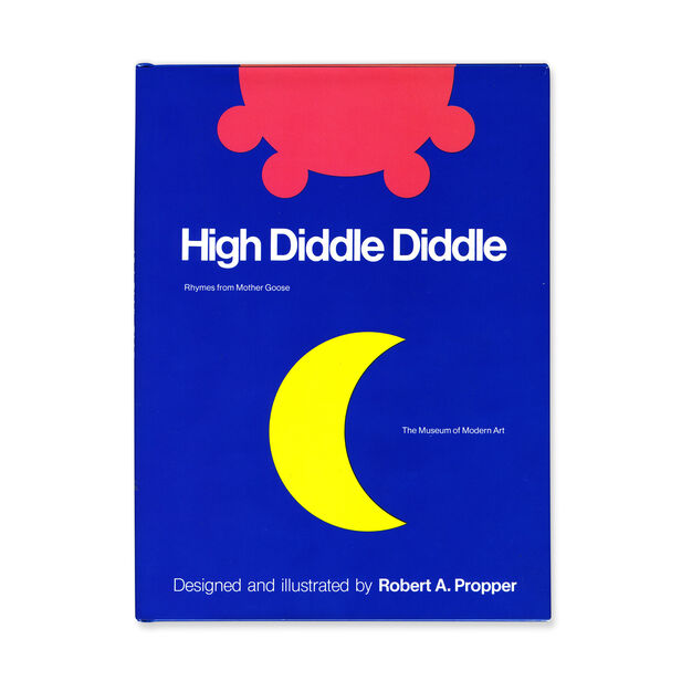 High Diddle Diddle: Rhymes from Mother Goose - Hardcover in color