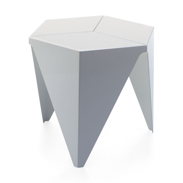 Noguchi Prismatic Table in color White