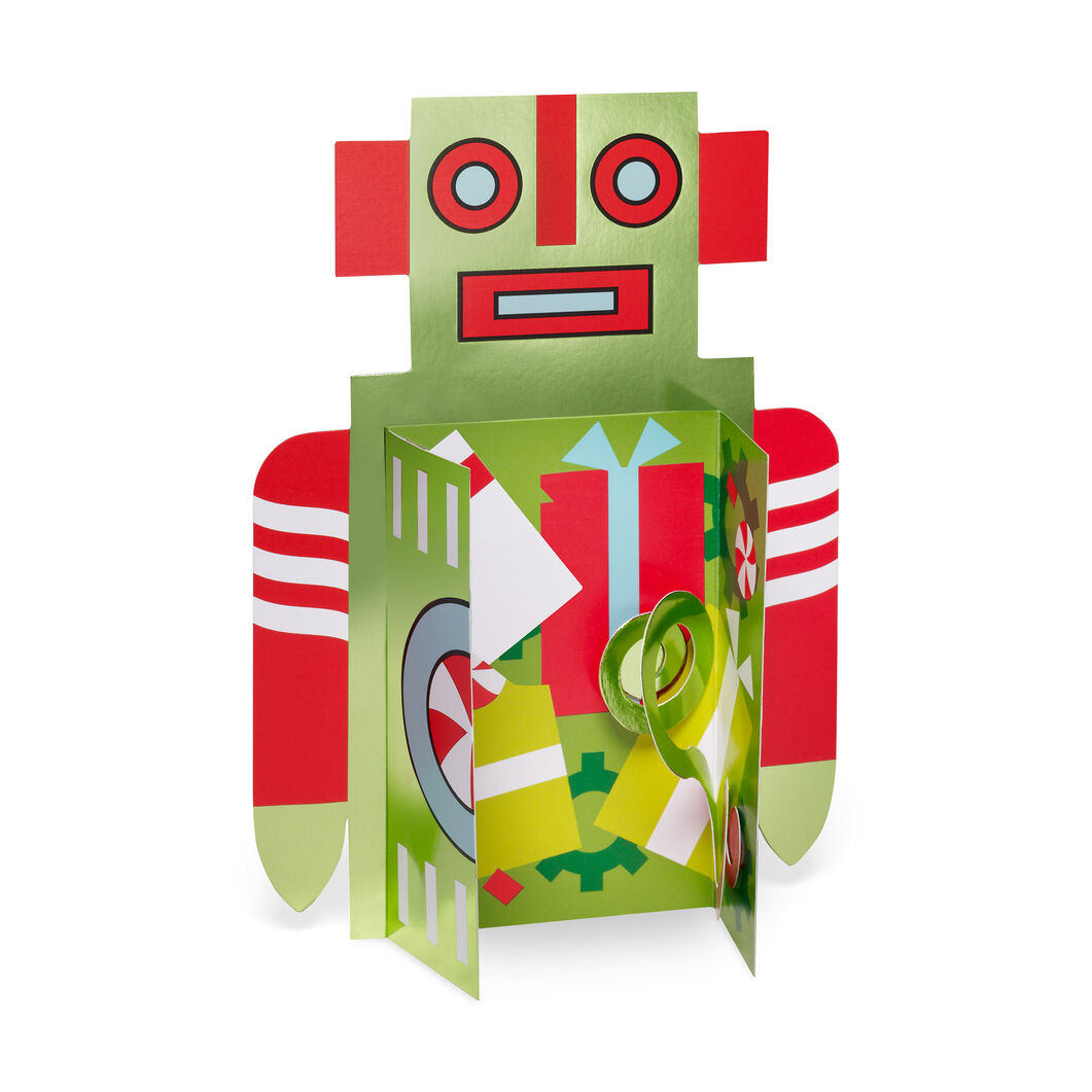 Holiday Robot Holiday Cards (Box of 8) in color