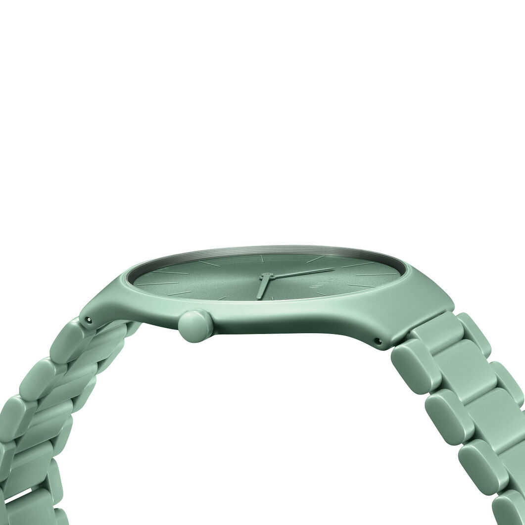 Rado True Thinlines Les Couleurs Le Corbusier Watch in color Green
