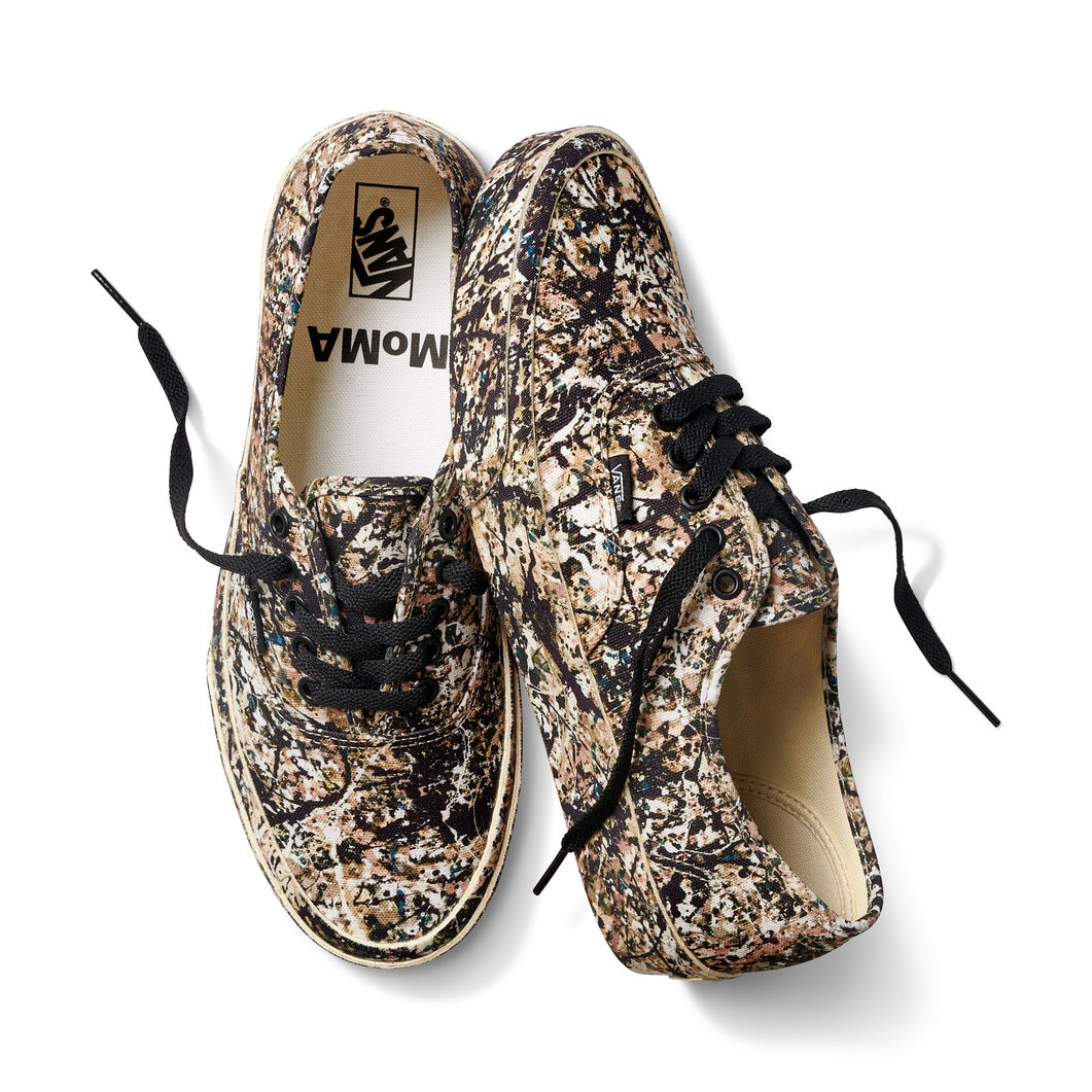 MoMA and Vans Jackson Pollock Authentic Sneakers in color