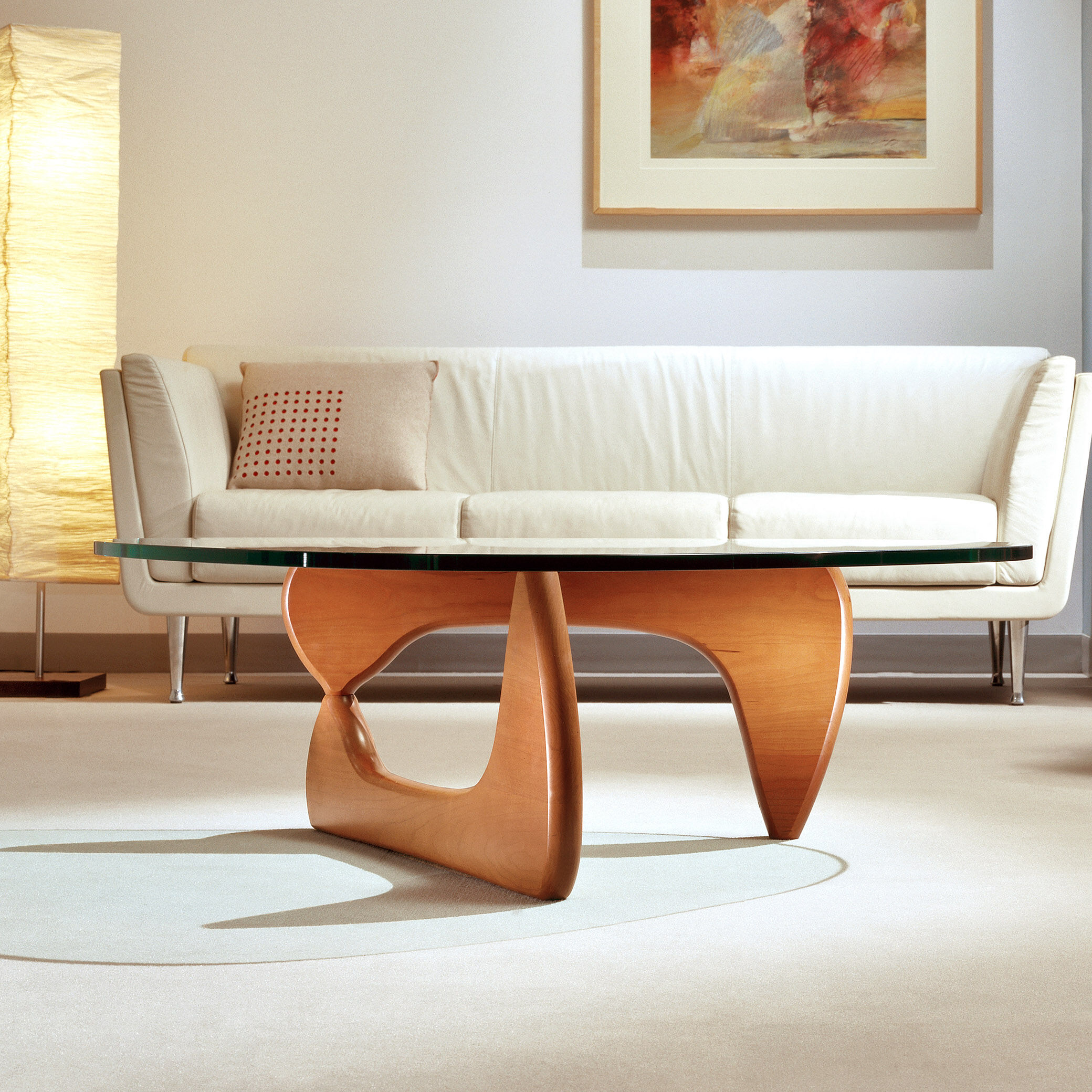 Walnut Base Noguchi Coffee Table MoMA Design Store