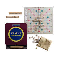 Scrabble Game Tin - Nostalgia Edition in color