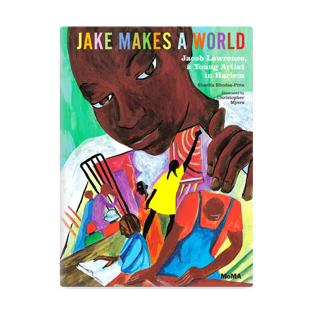 Jake Makes a World: Jacob Lawrence  A Young Artist in Harlem in color
