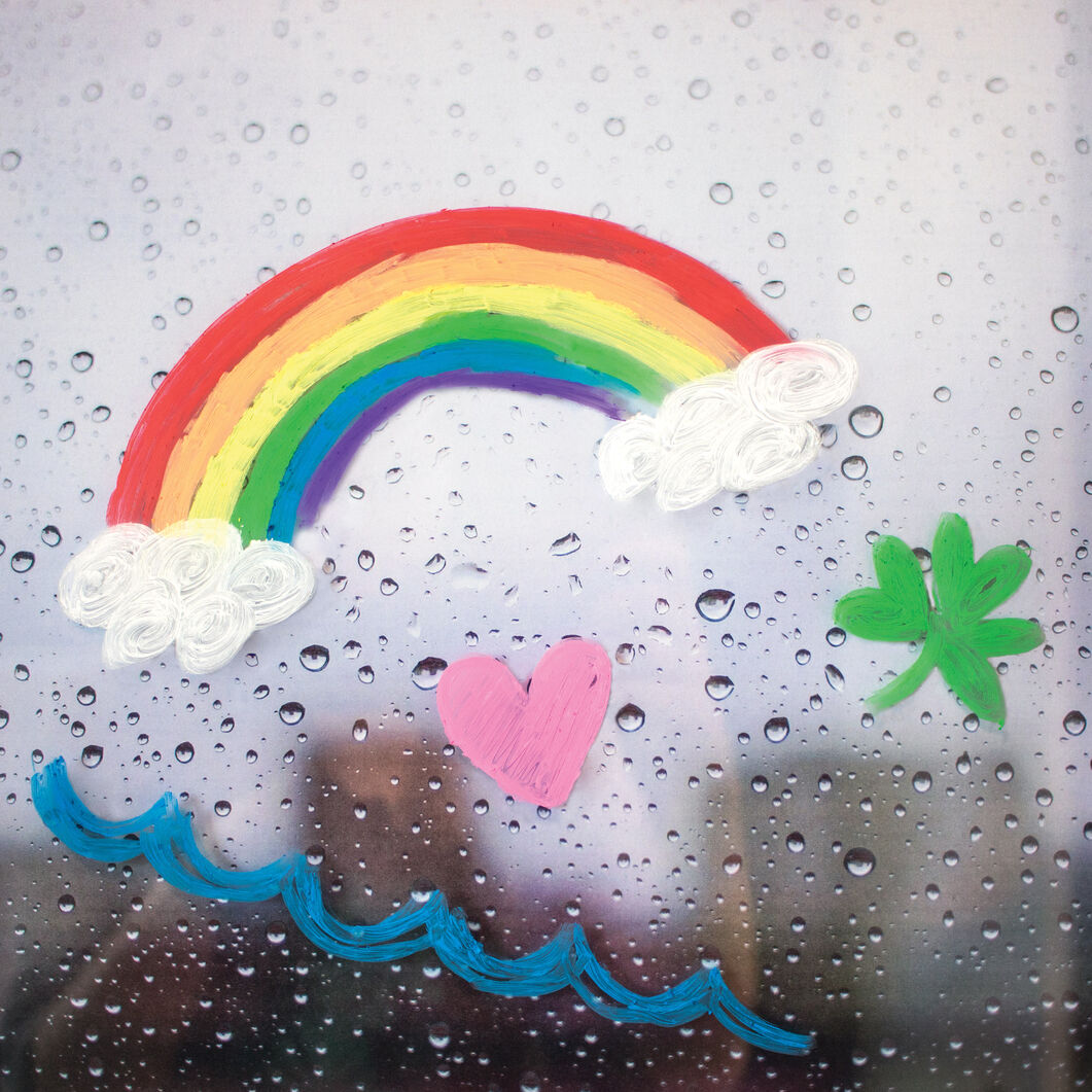 Rainy Dayz Gel Crayons - Set of 12 in color