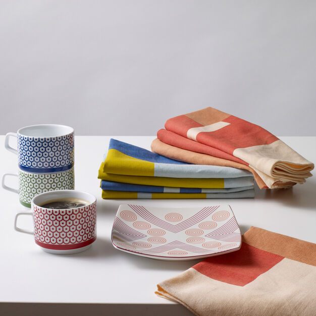 Marguerita Mergentime Once in a While Cloth Napkins in color Orange