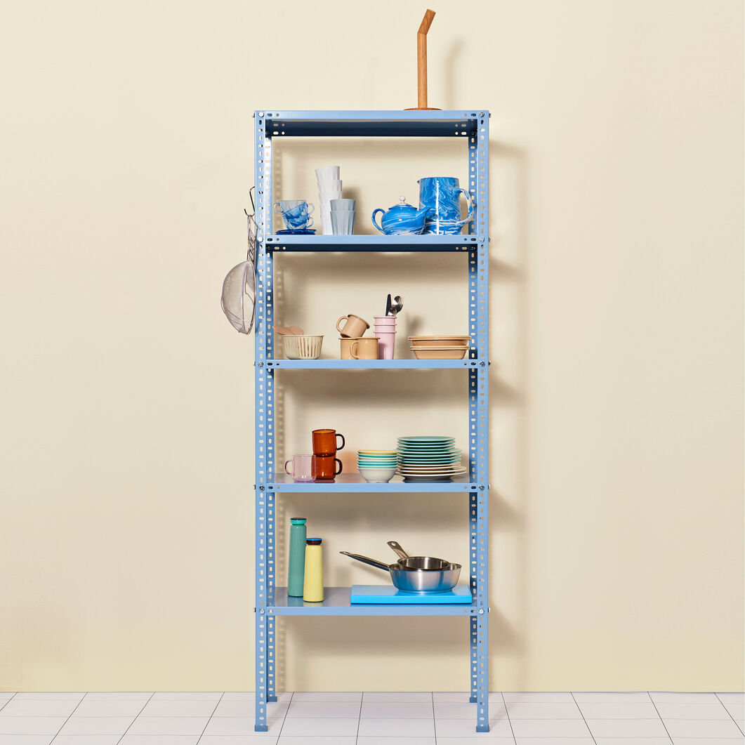 HAY Shelving Unit in color Dusty Blue