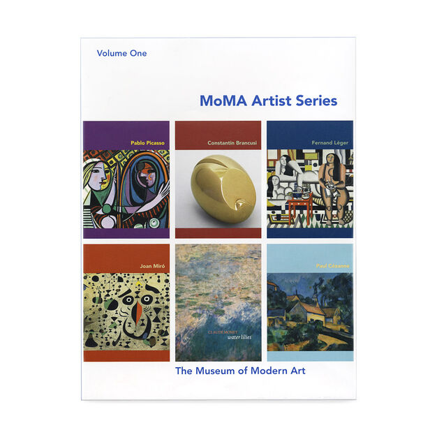 MoMA Artists Series: Volume One in color