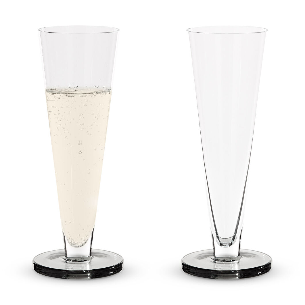Tom Dixon Puck Champagne Glasses - Set of 2 in color