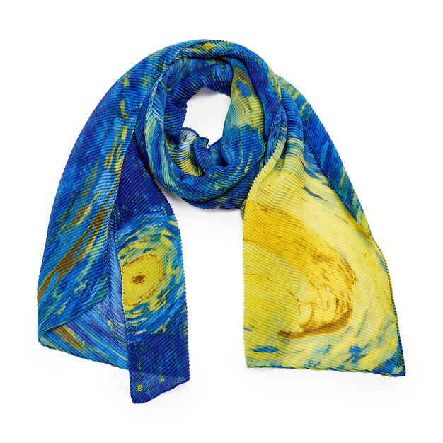 Starry Night Scarf in color
