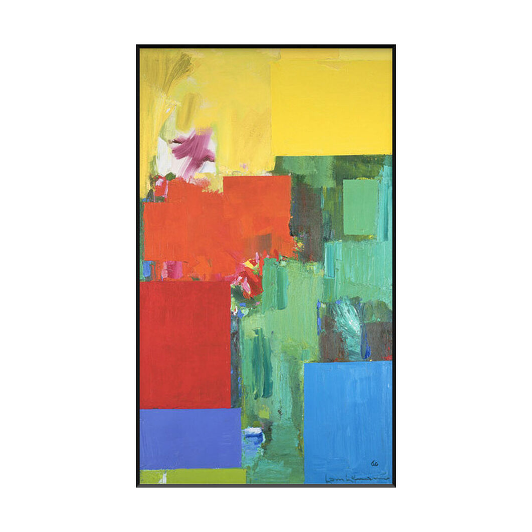 Hofmann: Elysium Framed Print in color