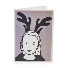 Julian Opie Holiday Cards in color