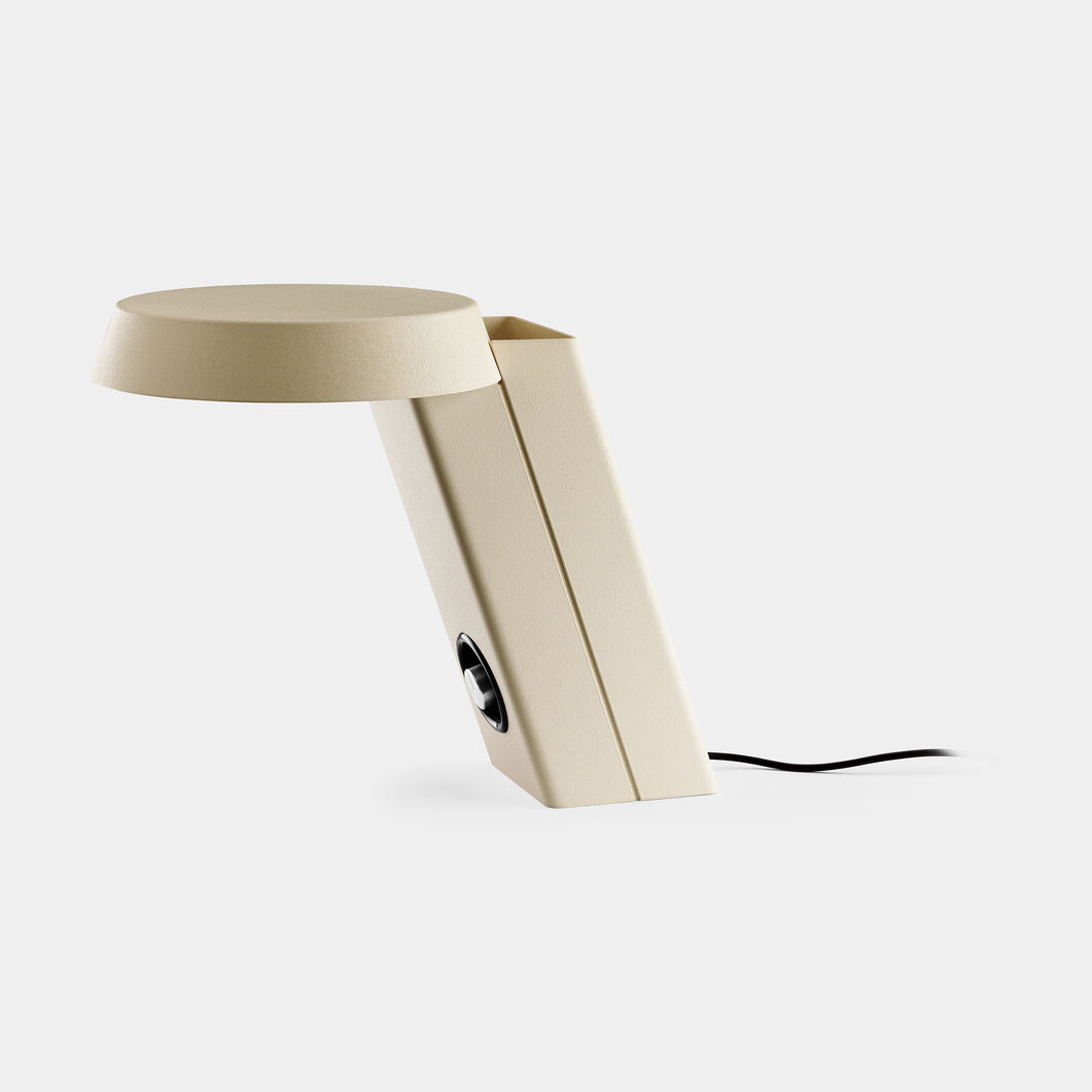 Model 607 Table Lamp  White in color
