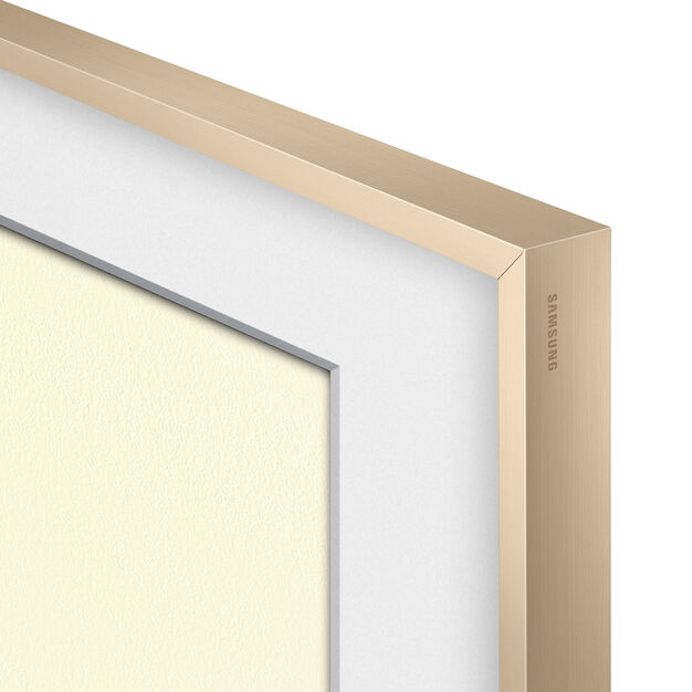 Bezel Customizable for Samsung The Frame TV in color Beige