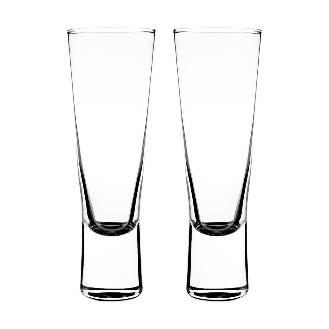 Aarne Crystal Champagne Glasses in color