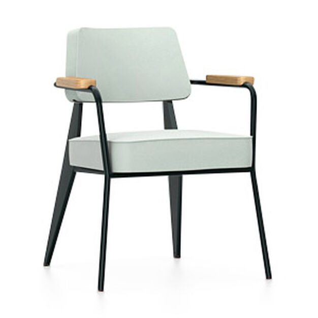 Fauteuil Direction Chair in color Jade Gray