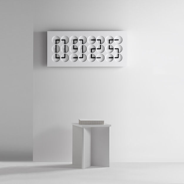 ClockClock 24 -  White Edition in color