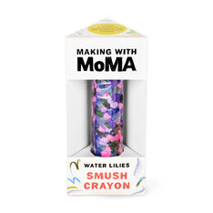 Making with MoMA Smush Crayon in color Multi Monet