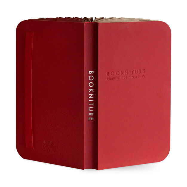 Bookniture in color Red