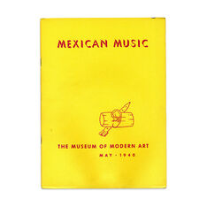 Mexican Music - Paperback in color