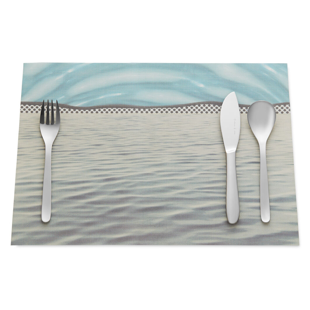Roy Lichtenstein: Ocean Placemat in color Ocean