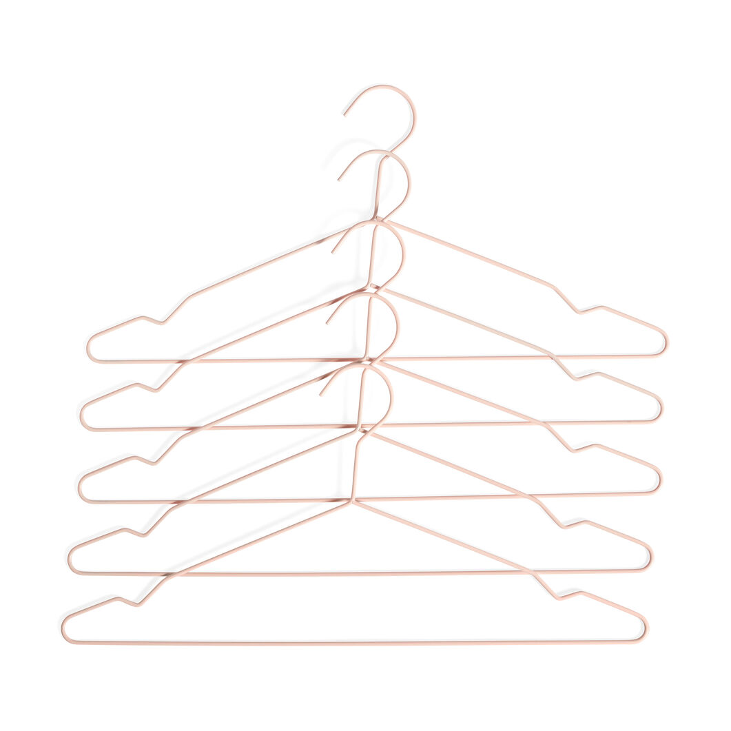 HAY Metal Hangers - Set of 5 in color Peach