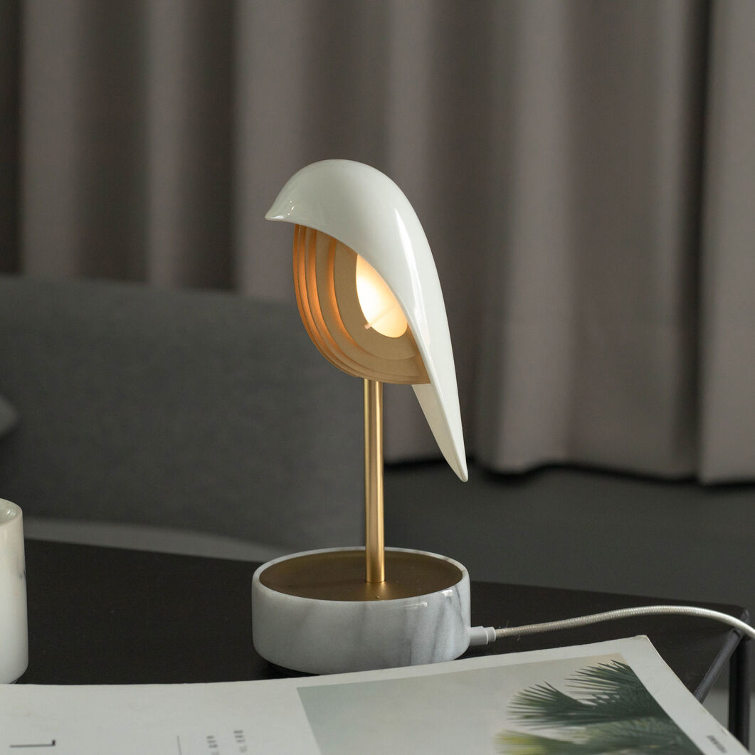 Chirp Alarm Clock and Lamp in color