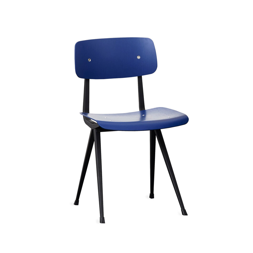 HAY Result Chair in color Blue