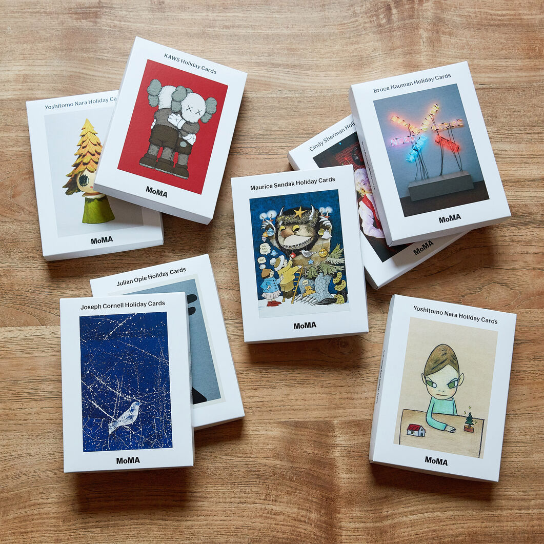 Yoshitomo Nara Holiday Cards (Box of 12) in color