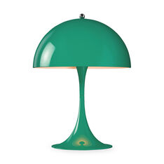 Panthella Mini Table Lamp in color Blue/ Green