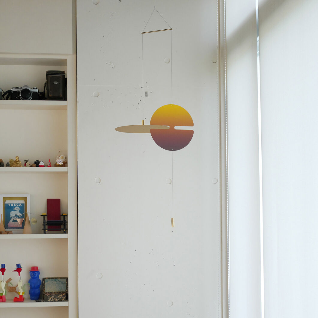 Perfect Instance Hanging Mobile in color Yellow