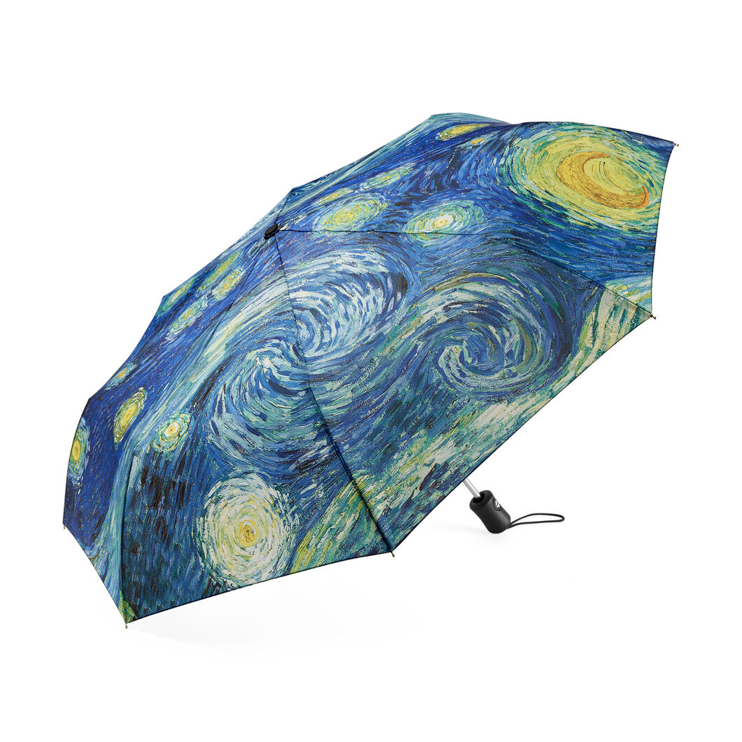 Starry Night Umbrella Collapsible in color