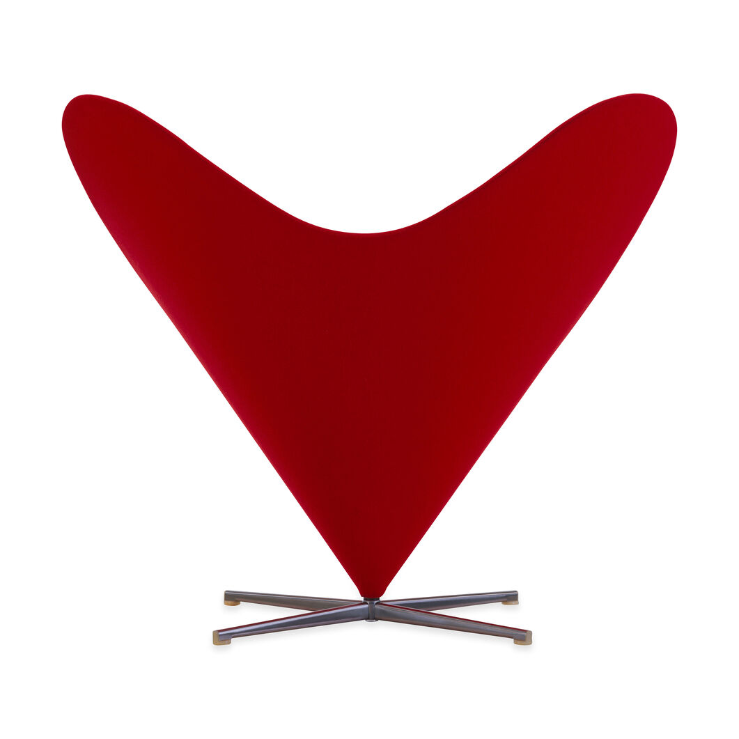 Heart Cone Chair in color