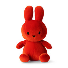 "Velvet Plush Miffy 9"" in color Orange"