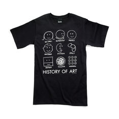 History of Art T-Shirt Small in color