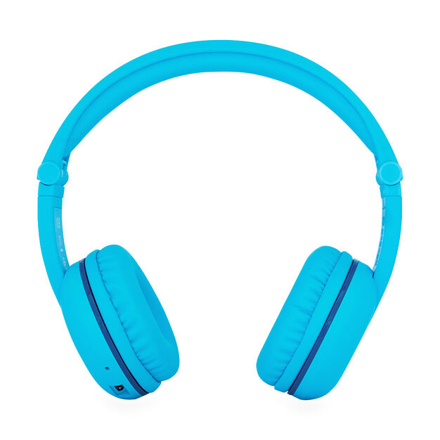 BuddyPhones PLAY Kids' Headphones in color Glacier Blue