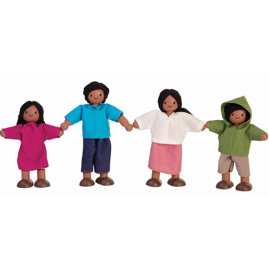 Shaw Doll Family in color