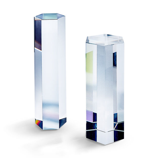Swarovski Crystal Paperweights in color Transparent Multi