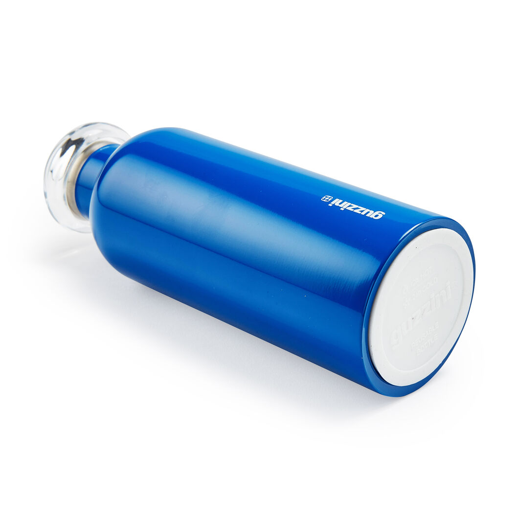 Guzzini Energy Water Bottle in color Navy