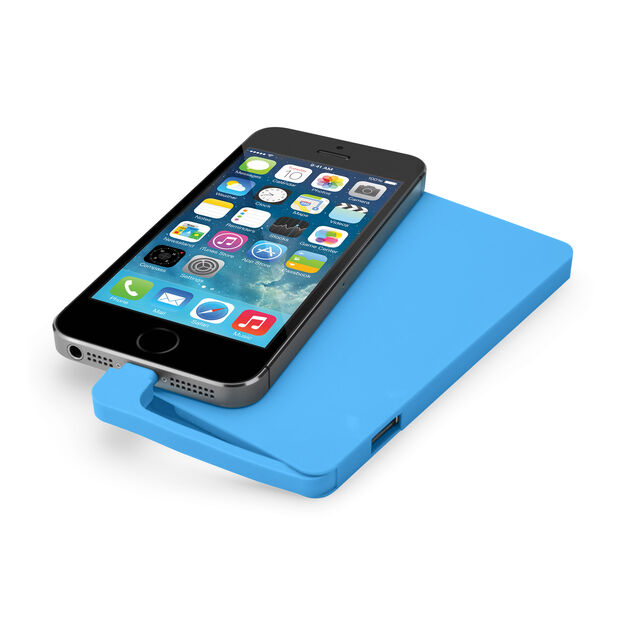 Energy Slim Power Bank - Blue in color Blue